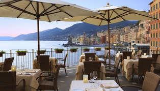 Hotel Cenobio dei Dogi outside dining