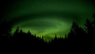 Northern Lights, Sweden and Norway