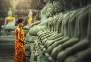 Laos, Buddhist temple, Luang Prabang