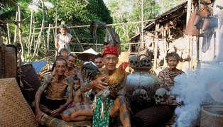 Headhunters, Borneo