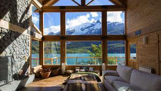 Aguas Arriba Lodge, Argentinian Patagonia