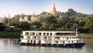 Sanctuary Ananda, cruise boat, Myanmar (Burma)