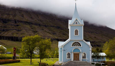 Church in Seydisfjordur, Iceland