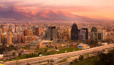 panoramic view of las condes and providencia districts, santiago, chile_400_230