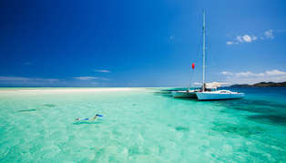 Luxury Fiji Beach and Sailing holiday