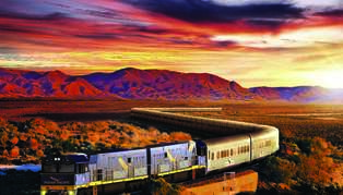 Australia by Luxury Train