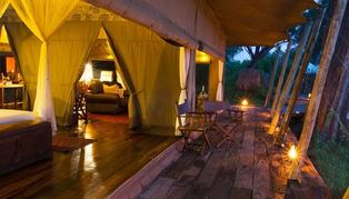 Zarafa Camp, Botswana