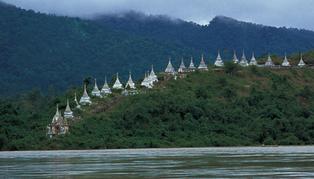 RV Zawgyi Pandaw, cruise boat, Myanmar (Burma)