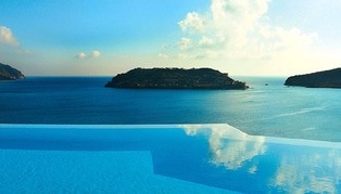 Blue Palace, Greece
