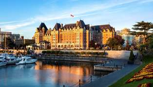 Fairmont Empress, British Columbia, Canada