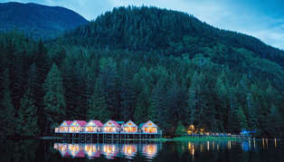 Nimmo Bay Wilderness Resort, British Columbia, Canada