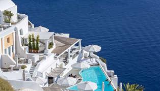 Katikies, Santorini, Greece
