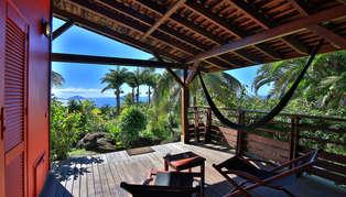 Le Jardin Malanga, Guadeloupe, Caribbean