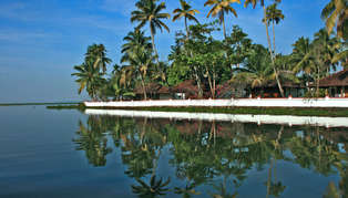 Coconut Lagoon, Kerala, India