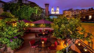 The Inn at the Spanish Steps, Rome, Italy