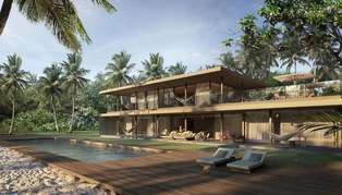 Patina Maldives, Beach House exterior