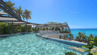 LUX* Grand Baie, Mauritius, rooftop pool