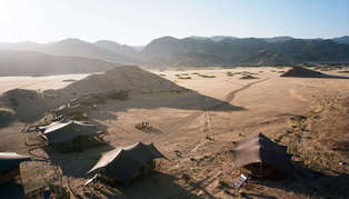 Hoanib Valley Camp, Namibia