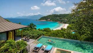Four Seasons Resort Seychelles, Mahe, Indian Ocean