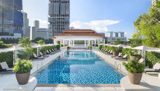 Raffles Singapore, Outdoor Pool