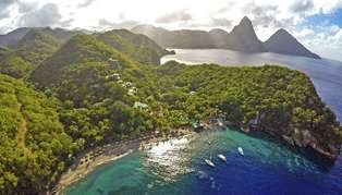 Anse Chastanet, St Lucia, Caribbean