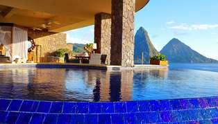Jade Mountain, St Lucia, Caribbean