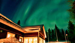 Pine Bay Lodge, Swedish Lapland, Sweden