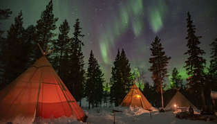 Sapmi Nature Camp, Swedish Lapland