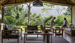 Sanctuary Gorilla Forest Camp, Bwindi Impenetrable Forest, Uganda