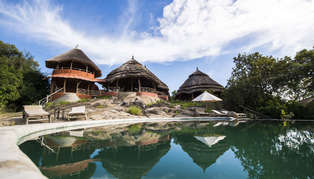 Mihingo Lodge, Lake Mburo, Uganda, Africa