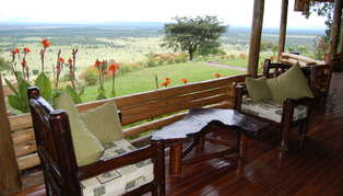 Katara Lodge, Queen Elizabeth National Park, Uganda, Africa
