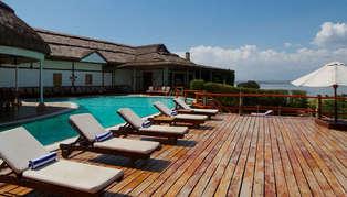 Mweya Safari Lodge, Uganda, Africa