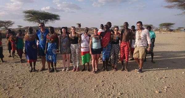 Samburu village visit, Kenya