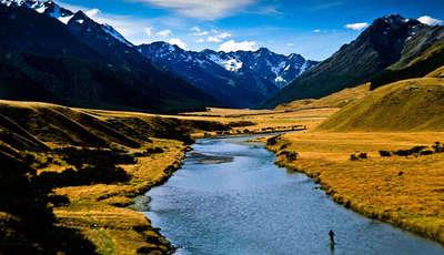 Ahuriri Valley, New Zealand