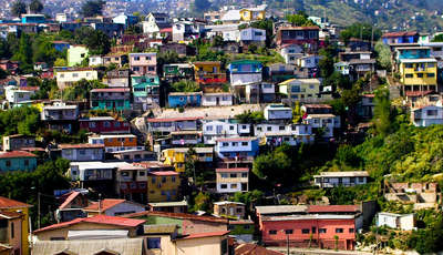 Valparaiso streets, Chile